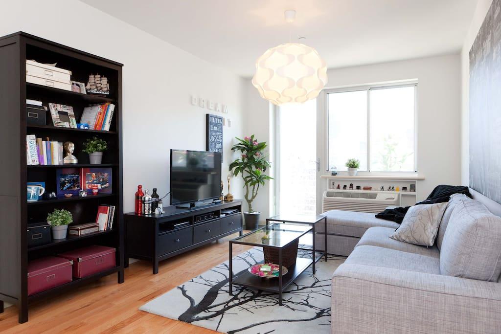 Spacious bedroom and private bath appartamenti in for Appartamenti in affitto per vacanze a new york
