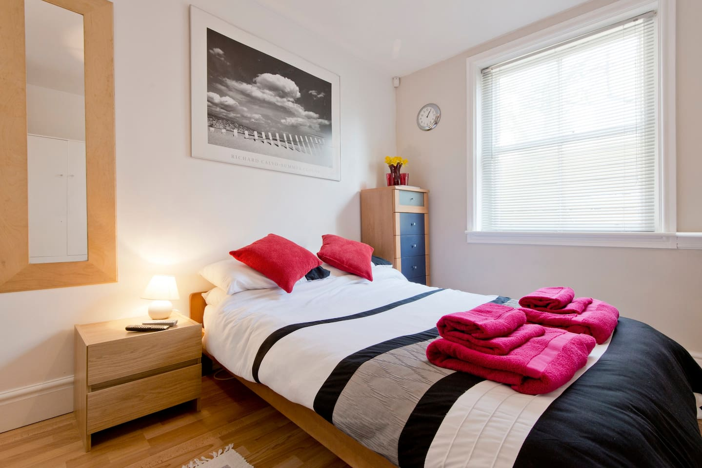 Clean, comfortable and contemporary double room.
