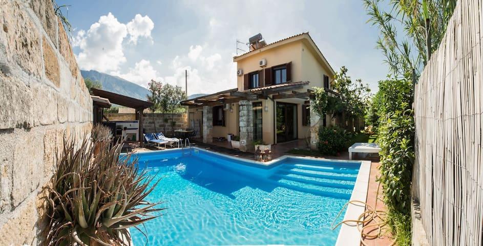 Villa Il Patio con piscina - Cinisi - Vila