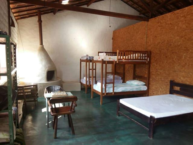 Hostel Pangéia - Cavalcante - Haus