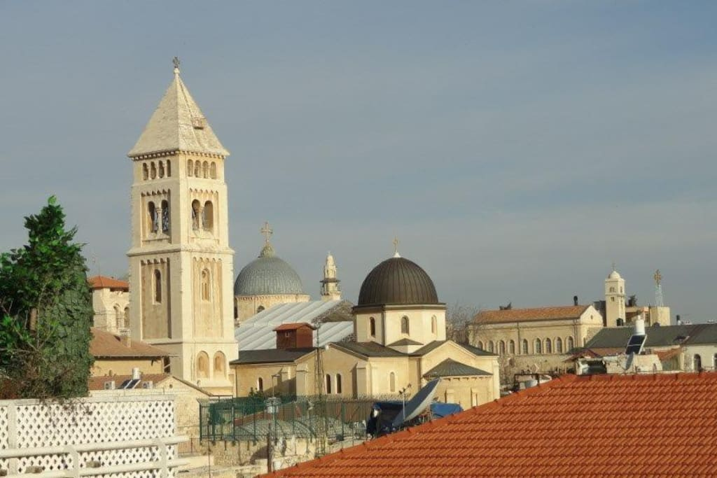 View of Christian quarter from living room