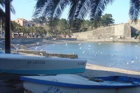 Collioure les pieds dans l'eau (20m de la plage) - Collioure - Διαμέρισμα