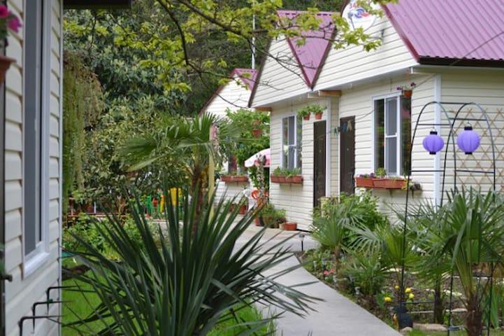 3-хместный домик Сочи, ЛОО - Lazarevskoye Microdistrict - House