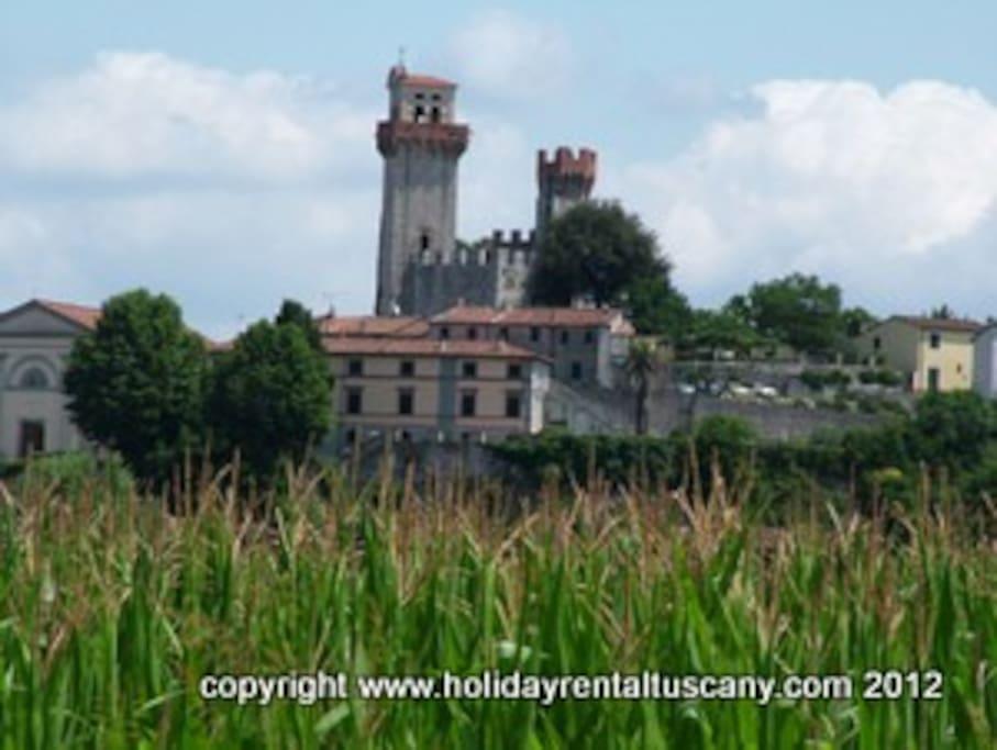 Nozzano Castello.