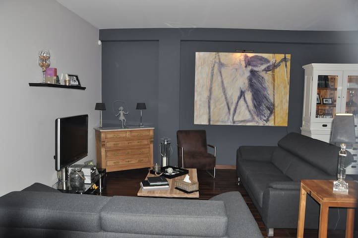 GARDEN apartment - 20' Grand Place - Jette - Apartamento