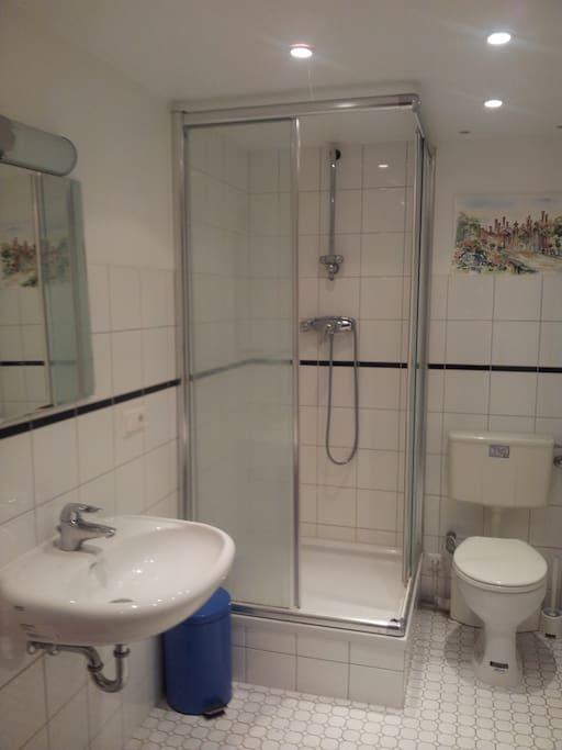 Das private Badezimmer