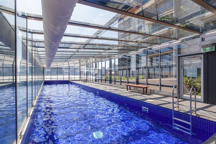 ★SOUTHBANK CROWN CASINO★ Rooftop Pool & BBQ | 1BD