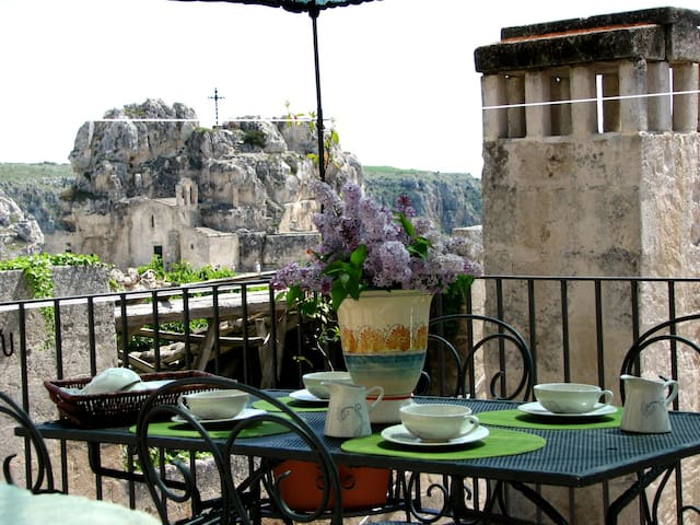 Apartment Gradelle Pennino - Matera - Bed & Breakfast