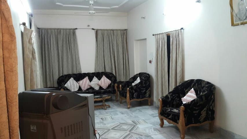 Entire one floor of a fully furnished posh 3BHK