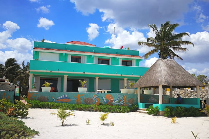 5* Amazing Casa Turquesa. 30 steps from the beach!
