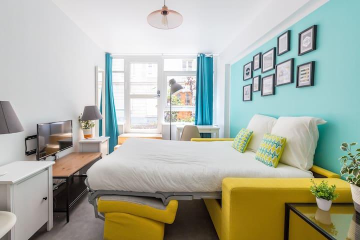 Montmartre - Sacré Cœur 3: cosy flat for 4