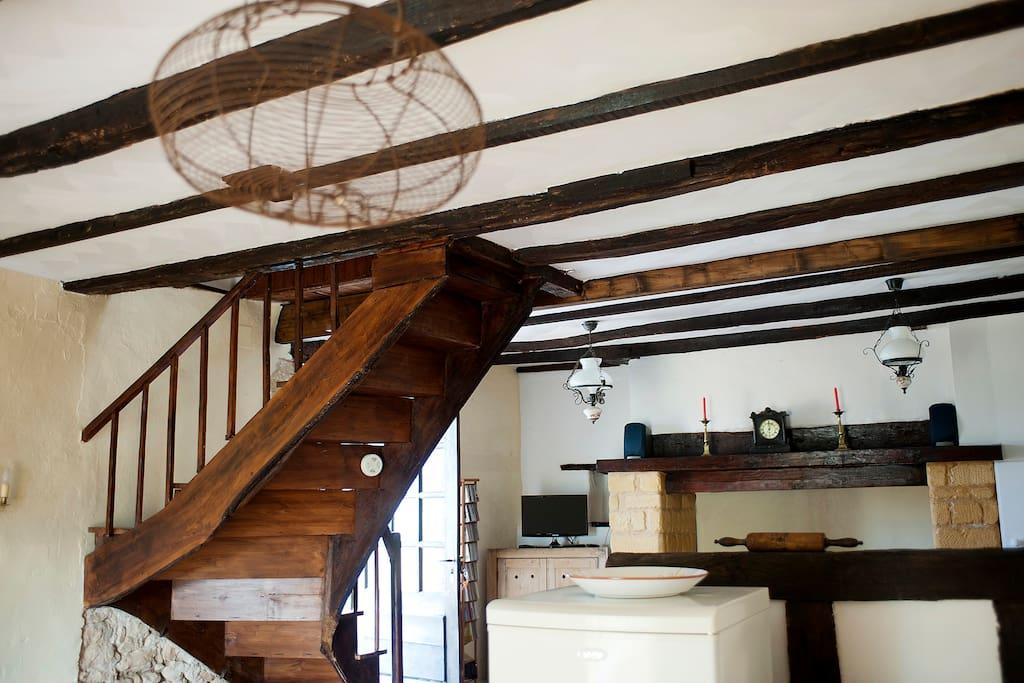 Oak Beamed Sitting Room