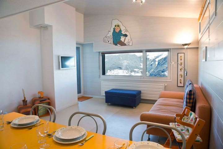 Tintin in the Alps - Vex - Appartement