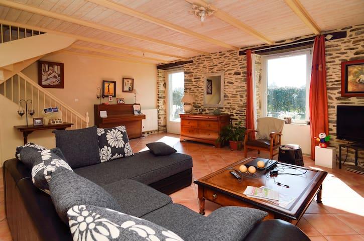 1 chambre bretagne sud - Clohars-Carnoët - Casa