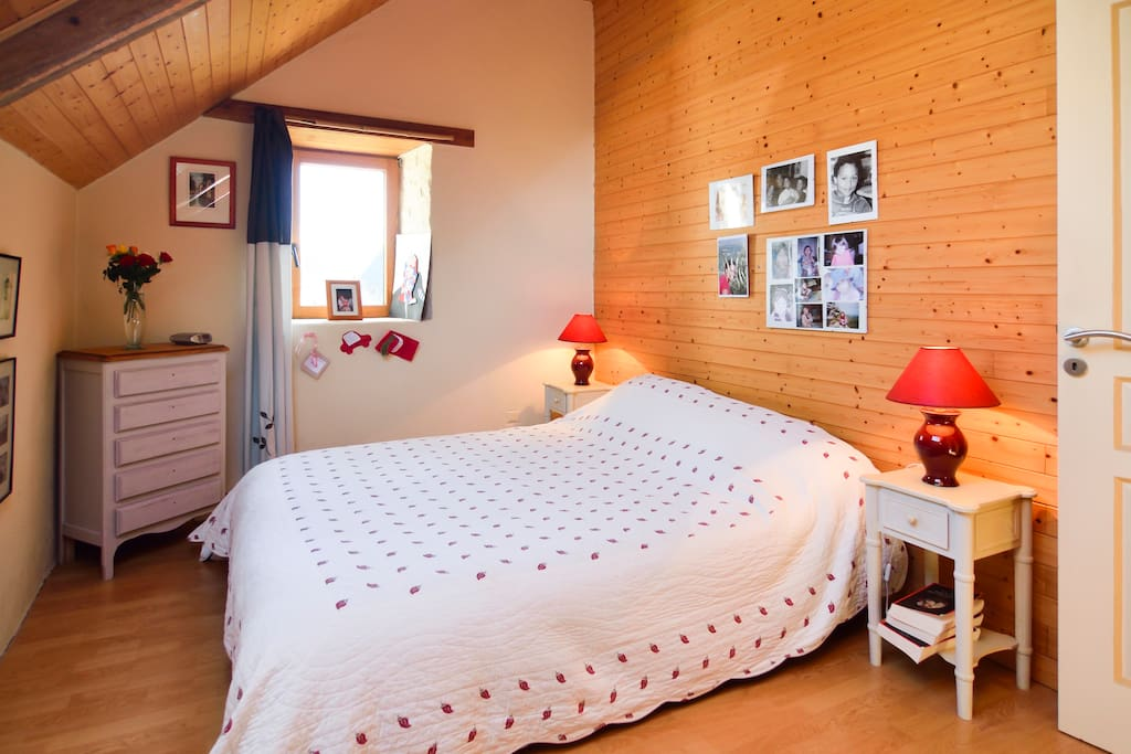 la chambre avec 1 lit de 160