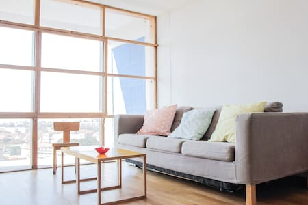 Duplex vue mer Le Corbusier 100 m2