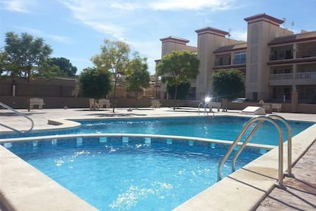 2 Bed Modern Apartment with Pool close to amenitie - San Pedro del Pinatar - 公寓