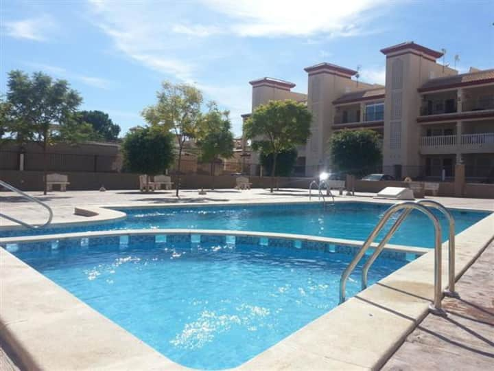 2 Bed Modern Apartment with Pool close to amenitie