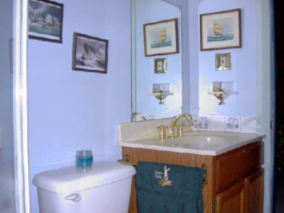 Captain's Private Head (Bathroom)