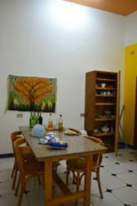 Suite Nefertari kitchen.
