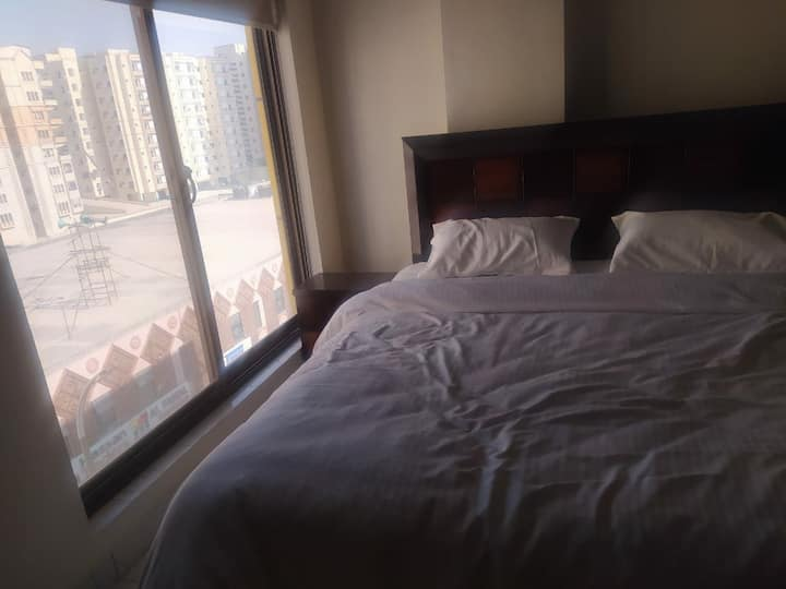Furnished apartment in DHA 2 Islamabad.