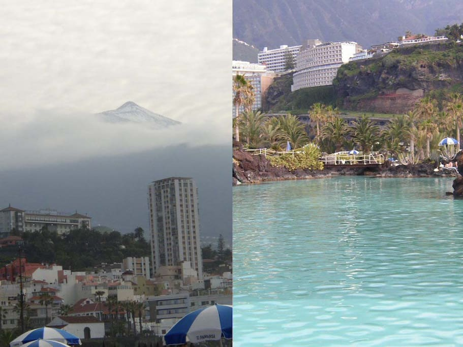 Tenerife has snow and hot in the same day. Tenerife is a little Continent.