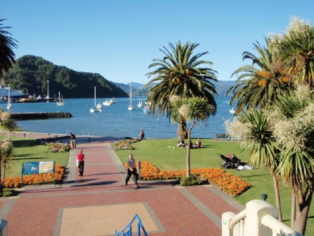 Picton Lovely Village Retreat-walk to town. - Picton - Casa