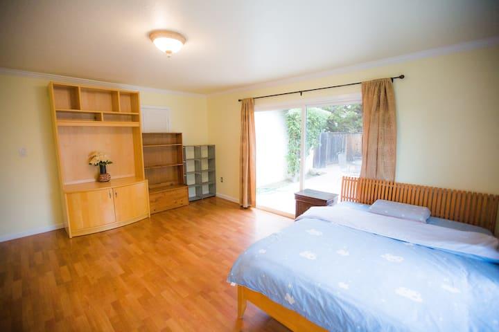 Sunnyvale Bid Cozy Room 5 minus drive to Apple