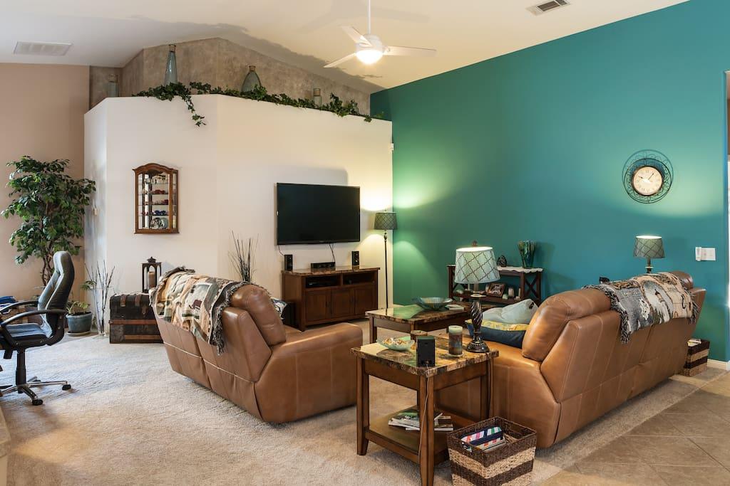 Living Room/ TV Area