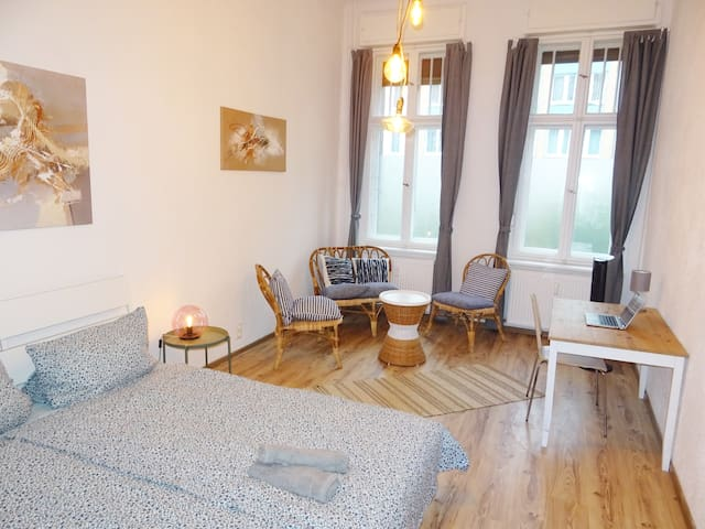 [DR] Berlin 3 Bedroom Apartment 6 stations to Alex