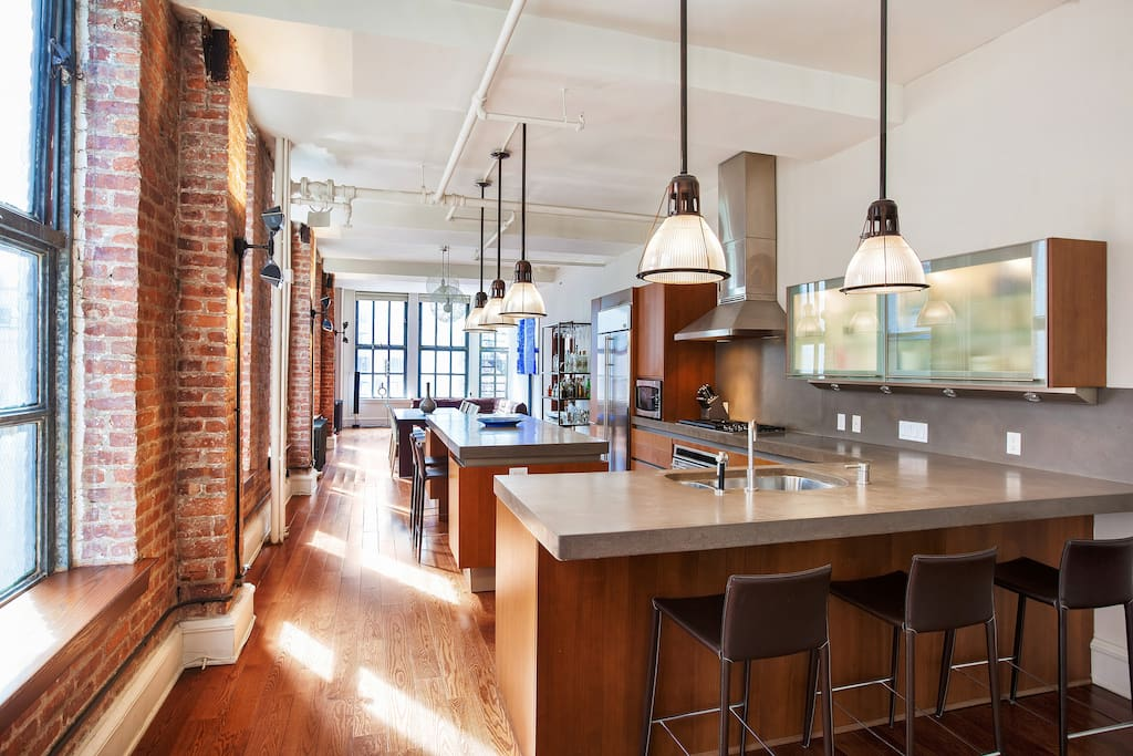 13 Stunning Apartments In New York: Stunning 2600ft Full Floor LOFT