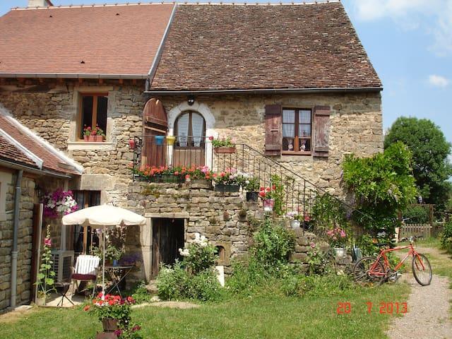 La maison du Gué a 20' de Beaune - Écutigny - บ้าน