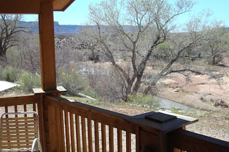 Cabin on Virgin river on 4 acres - Virgin - Stuga