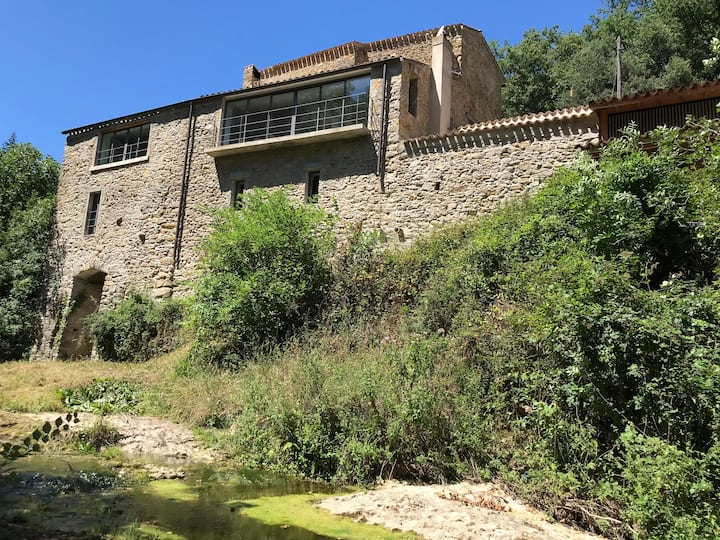 Spectacular renovated watermill