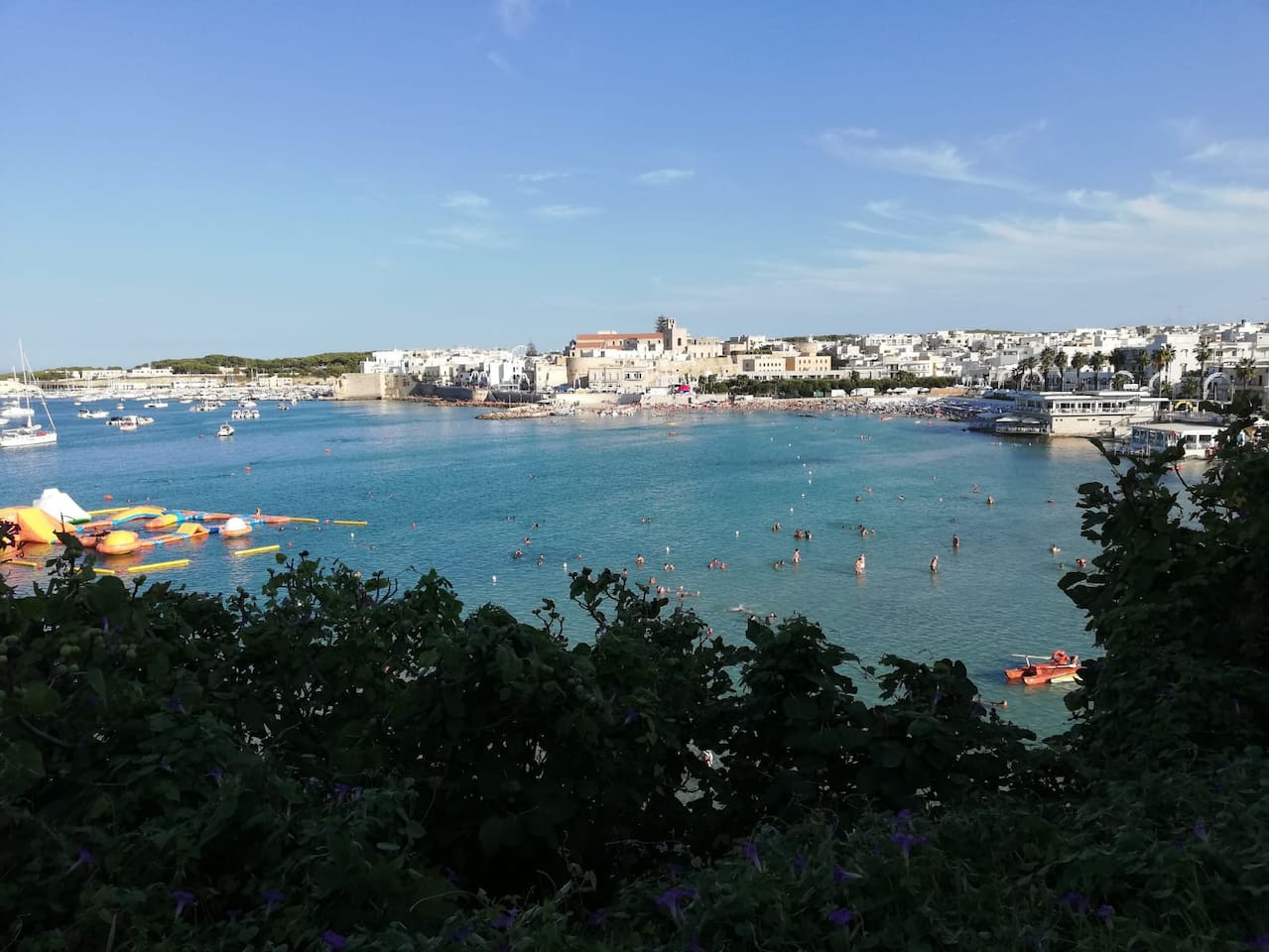 Vista di Otranto dal belvedere a pochi metri dall'appartamento