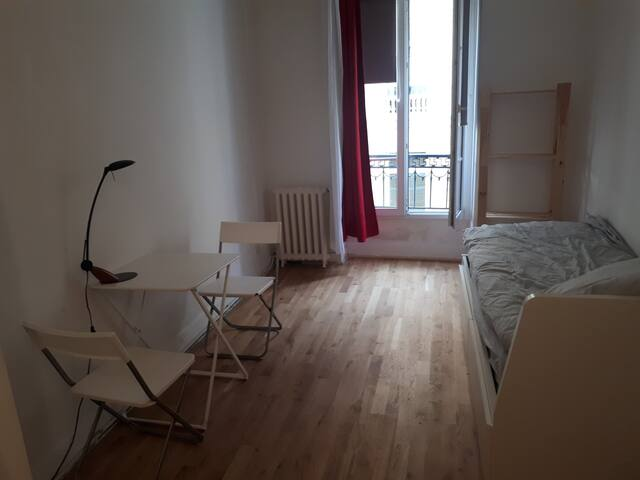 Studio for 2, in the heart of Paris close to Opera