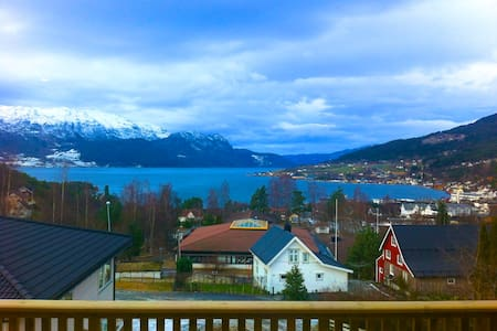 New apartment with beautiful view - Gloppen - Leilighet