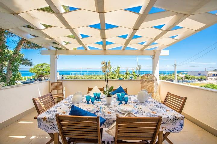 Modern Villa Mondello Addaura Amazing Sea View