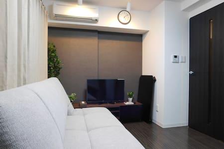 Sunny 1LDK Central Sapporo D5 (4 Guests) - Chuo Ward, Sapporo - Apartamento