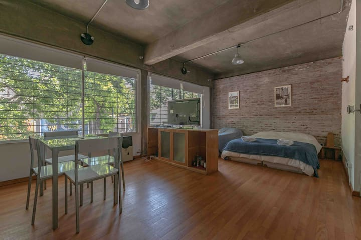 Loft in Palermo Soho-Pza Serrano Perfect Location