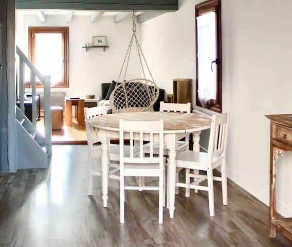 SWEET BEACHY HOME-Capbreton centre