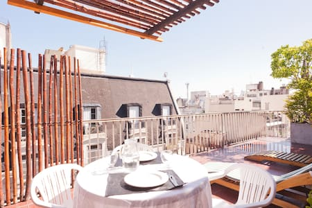Cozy 1Bdr Great Terrace! sun/view!! - Buenos Aires