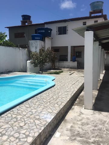 Duplex com piscina em Carne de Vaca