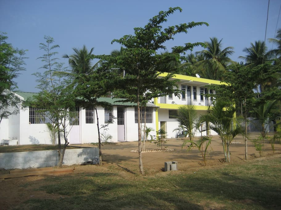 Front view of the Farm House
