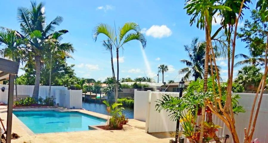 CHAPPY WATERFRONT RESORT HOUSE - Pompano Beach - Дом