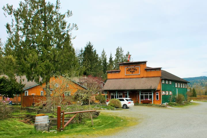 The Fort Langley Travel (entire house)