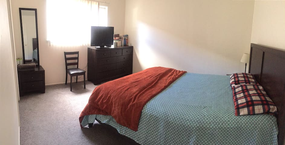 Comfy private Bed room in fremont - Fremont - Apartament