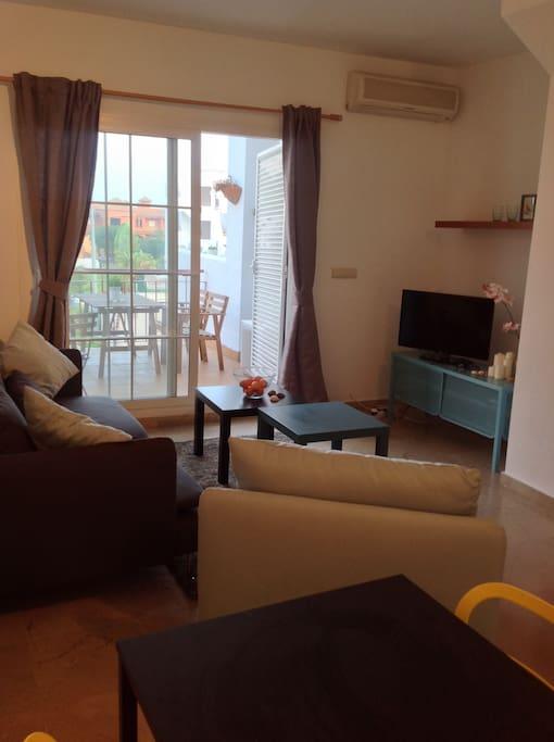 Living room - Tv corner