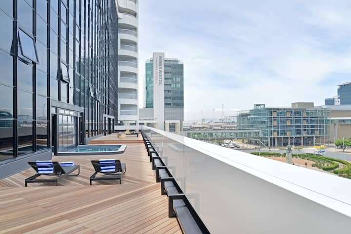 Amazing Studio - Rooftop Pool & Awesome City Views
