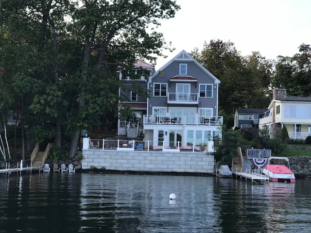 Summer Reunion -Lake Winnipesaukee on Meredith Bay